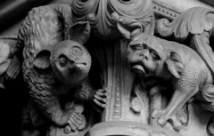 St Mary's Cathedral (richardr) Tags: stmaryscathedral stmary saintmary church westend gargoyle gilbertscott georgegilbertscott sirgeorgegilbertscott edinburgh midlothian cathedral blackwhite blackandwhite victorianarchitecture victorian victoriana 19thcentury nineteenthcentury gothic gothicarchitecture gothicrevival building architecture scotland scottish britain british greatbritain uk unitedkingdom europe european history heritage historic old