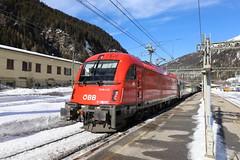 ÖBB 1216 007-5 Eurocity, Brennero (TaurusES64U4) Tags: taurus 1216 öbb es64u4