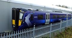 Scotrail class 385 . (steven.barker57) Tags: scot rail class 385 emu electric passenger train trains scotrail uk england hitachi newton aycliffe factory rai railways british multiple unit