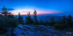 Myrtle Point Panorama (Ron Harbin Photography) Tags: great smoky mountains national park gsmnp myrtle point mount leconte landscape frame full fx outdoor f28 24mm d750 nikon copyright black blue tree lightroom diffused light shade natural depth field pictures autumn fall 2018 flower grass escape fairytale wonderland forest photographer golden hour travel sun prime water stream torrent flood river rock boulder covered moss pioneers settlers