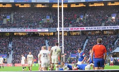 England v France 20 (oldfirehazard) Tags: england engvfra france rugby rugbyunion rufc 6nations sport twickenham london 2019 february international outdoor stadium winter