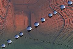 Ragnatela in gocce (Zz manipulation) Tags: art ambrosioni zzmanipulation ragnatela geometrie gocce coloro astratto studio