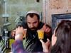Jaffa Orange Juice (oxfordblues84) Tags: handing hand hands yarmulke oat overseasadventuretravel israel telavivisrael yafo telaviyafo oldjaffa jaffa walkingtour revi revital woman orangejuice freshsqueezedjaffaorangejuice jaffaorangejuice man israeli jewishman shopkeeper cups cup jaffamarket yaffo telavivyaffo