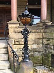 Lantern, Maymont Mansion (F33) Tags: maymontpark wroughtiron architecture light lantern maymont