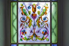 Vitral (José M. Arboleda) Tags: arquitectura vitral vidrio color flor adorno ventana reja luz popayán colombia canon eos 5d markiv ef1635mmf4lisusm josémarboledac