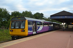 Northern Pacer 142 (Will Swain) Tags: station 24th july 2018 salford crescent northern pacer 142 class arriva group greater manchester city centre north west train trains rail railway railways transport travel uk britain vehicle vehicles england english europe walkden