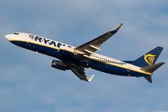 EI-ENV (Andras Regos) Tags: aviation aircraft plane fly airport bud lhbp spotter spotting takeoff ryanair boeing 737 738