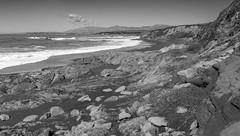Rocky Shore V _ bw (Joe Josephs: 3,166,284 views - thank you) Tags: californiacoast californialandscape landscape landscapephotography pacificcoasthighway travel travelphotography westcoast californiatravel outdoorphotography beach californiabeach cambriacalifornia ocean seashore coastline rocks bw blackandwhite blackandwhitelandscape monochrome