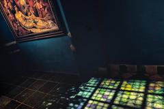 Lamentation and hope (glukorizon) Tags: art blauw blue centrum christ christendom christianity christus colourful debewening delft floor glasinloodraam jesus jezus kleurig kleurrijk kunst maartenvanheemskerck muur nederland painter painting prinsenhof raam ruit schilder schilderij sintagathaplein stainedglasswindow tegel thelamentation tile vloer wall wand window zuidholland