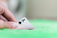 Ace of Spades (Pablo_Fernandes) Tags: playing ace poker spades cards bet bluff