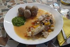 Kanarischer Fischtopf zu Papas arrugadas con Mojo verde (multipel_bleiben) Tags: essen zugastbeifreunden fisch eintopf kartoffeln dip sose spanisch