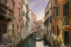 Venice, Italy (Cat Girl 007) Tags: aged architecture bridge building canal city cityscape colored europe famous house italian italy landscape medieval narrow old outdoors ponte romantic street tourism travel urban venetian veneto venice view water