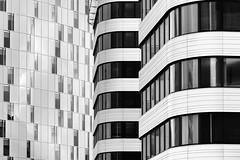 Two of us (michael_hamburg69) Tags: hamburg germany deutschland bürohaus office building architecture architektur bürostadt citynord holidayinn hotel telekom deutschetelekomag jürgenengelarchitekten mpp architekt