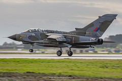 RAF Tornado GR.4 ZG752 Touch and Go (Mark_Aviation) Tags: raf tornado gr4 zg752 final landing last ever farewell enthusiast day marham camo scheme special paint original gr4t swept wings touch go takeoff overshoot military aircraft airplane jet loud afterburner