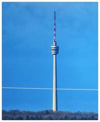 11 km distance. TV TOWER STUTTGART GERMANY (eagle1effi) Tags: by canon powershot sx70 hs 1200 mm canonpowershotsx70hs sx70hs powershotsx70hs eagle1effi bridgecamera 2019