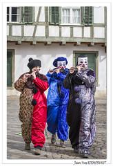 Carnaval de Bâle 2019 : les fifres arrivent. (C. OTTIE et J-Y KERMORVANT) Tags: carnaval carnavaldebâle baslerfasnacht baslerkinderfasnacht bâle basel suisse