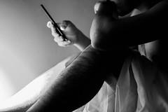 Insomnia (moy_h) Tags: contraste contrast hand mano body cuerpo sheets sábana cama bed light luz selfportrait shadows sombras human translucido autorretrato hair alto