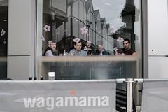 Collective Audience (Bury Gardener) Tags: burystedmunds britain suffolk streetphotography street streetcandids snaps strangers candid candids people peoplewatching folks fujixt3 fuji fujifilm 2019 england eastanglia uk wagamama
