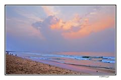 coutounou beach (harrypwt) Tags: harrypwt indonesia java borders framed fujix70 x70 benin africa coastal sunset bluehour