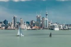 22 mar 2019 - photo a day (slava eremin) Tags: 365 2019 auckland city skyline sailboats stanleypoint nz newzealand