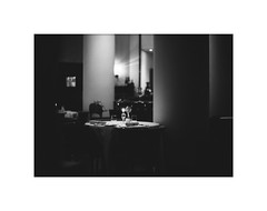 *Grainy night. (niko**) Tags: leica leicam2 noctilux50mmf10 e60 rollei superpan200 135 35mm filmphotography yokohama