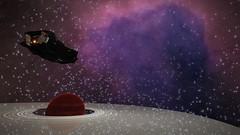 Phua Aub Archer Beta - Phua Aub VY-S e3-3899 (Phua Aub UD-K D8-3863 - Planet 8 A) 2 (Cmdr Hawkshadow) Tags: elitedangerous distantworlds2 aspexplorer elite dangerous asp explorer distant worlds 2