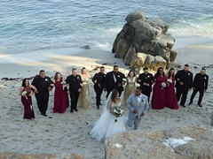 Wedding party on Lovers Point (Aldene.Gordon) Tags: montereybayarea pacificgrove loverspoint california