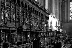 King´s College Chapel (@petra) Tags: chapel church indoor cambridge college king´scollege england uk bw bn sw pb nikon chancel