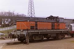 SNCF 63996 (bobbyblack51) Tags: sncf class bb 63500 brissonneau and lotz bobo diesel locomotive 63996 rouen sotteville depot 1997