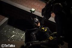 Batman vs. Alien (ToyTallica) Tags: toyphotography toys toytallica toycollecting toy mezcotoyz mezcotoys mezco mezcoone12 catwoman batman brucewayne alien fox aliens neca necareeltoys necatoys selinakyle batmanvsaliens
