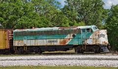 Florida Train Musem (The Vintage Lens) Tags: trains engine track tracks locomotive vintage antique railroad railroadcars travel florida musuem parrish fl passengers circus train