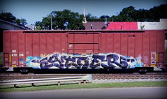 (timetomakethepasta) Tags: stoe stoer cdc freight train graffiti art ns boxcar norfolk southern