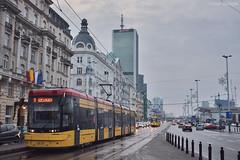 Pesa Jazz Duo (128N) - 3636 - 9 - 21.12.2018 (VictorSZi) Tags: poland warsaw varsovia transport tram tramvai publictransport winter iarna december decembrie nikon nikond5300