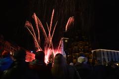 003 Olomouc (*Vasek*) Tags: fireworks ohňostroj olomouc czech morava moravia newyear 2019 hornínáměstí novoročníohňostroj feuerwerk olmütz europe nikon d7100