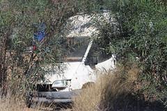 Derelict Cypriot Transit. (steve vallance coach and bus) Tags: fordtransit van cyprus scrap frenaros
