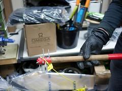 Knife Crime - 2 - WIP (the justified sinner) Tags: justifiedsinner panasonic 17 20mm gx7 westmidlands police wip workinprogress iron knife crime steel blade birmingham material mace