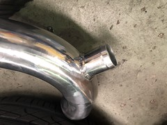 BOV attachment point (andrew edgar .......) Tags: subaru impreza wrx silver turbo awd car sydney blacktown
