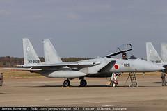 42-8828 | F-15J | JASDF 303 Hikotai (james.ronayne) Tags: 428828 | f15j jasdf 303 hikotai aeroplane airplane plane aircraft jet fast fighter military aviation flight flying hyakuri ibaraki ibr rjah canon 80d 100400mm raw japan selfdefense force