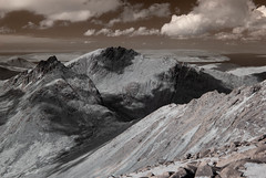 _DSC4748 (Scotland in Infrared) Tags: 720nm arran ayrshire clyde ir isle scotland arrete converted estuary hills infrared mountains peaks rugged
