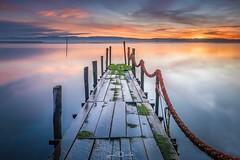 Ria de Aveiro (paulosilva3) Tags: sunrise lake water seascape colors dream pier roof sky old canon 5d mkiv manfrotto lowepro lee filters progrey ria de aveiro portugal