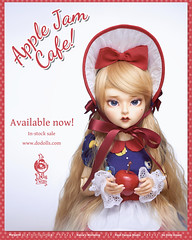 Margaret is available now! (Muri Muri (Aridea)) Tags: do dolls dream dodollsdream ball jointed doll bjd