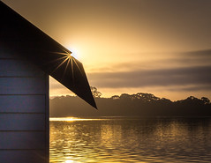 Magical morning (Martin Snicer Photography) Tags: phegansbay australia centralcoast mood morning sunrise sun house holiday travel picturesque canon 6d 50mm niftyfifity f22 light goldenhour