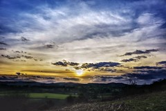 Sunset skies (Sundornvic) Tags: clouds sky sun shine shropshire countryside nature afternoon pentaxart pentax k70
