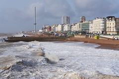 Brighton from the Pier (rafpas82) Tags: brighton brightonpier beach spiaggia sussex hove coast seaside costa mareagitato oceanoatlantico oceano ocean atlantic buildings palazzi cielo sky clouds nuvole nuvoloso beacheslandscapes 35mmf2 fujinon35mmf2 fujifilmxt20 xt20 fujifilm winter maredinverno pontile