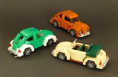 3 VW Käfer (Brixe63) Tags: lego vw beetle käfer cabrio polizei police