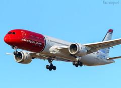 LN-LNN Boeing 787 Norwegian (@Eurospot) Tags: lnlnn boeing 787 7879 norwegian lebl barcelone