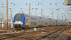 Z 24567/68 (334) + Z 24747/48 (624), Amiens - 07/03/2014 (Thierry Martel) Tags: z24500 amiens automotrice sncf