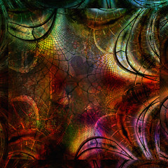 a beautiful trap... (Mark Noack) Tags: light color photoshop layer layering surreal expressionism abstract psychedelic futurist abstraction awardtree shockofthenew