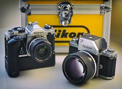 Legendary (Svendborgphoto) Tags: nikkor nikon nikkorais nikkorai 24mm 8514 nikonf nikonfm md12 classiccamera vintagecamera classic metal industrial 85mm14 f fm camera slr sonya7ii sonyalpha nikkorp 10525