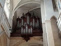 Blois, Loir-et-Cher: cathédrale Saint Louis. (Marie-Hélène Cingal) Tags: baznīca église kirik iglesia church chiesa bažnyčia kirche kostol eliza blois 41 loiretcher centrevaldeloire france cathédrale cathedral dom duomo orgue organ